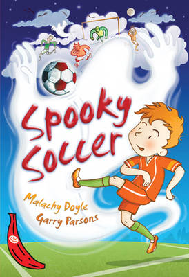 Spooky Soccer Red Banana by Garry Parsons