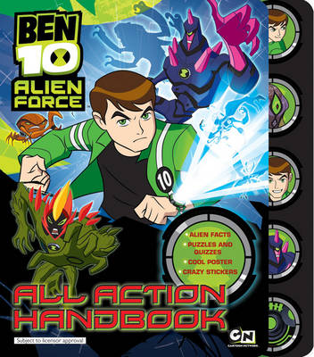 Ben 10 Alien Force All Action Handbook by