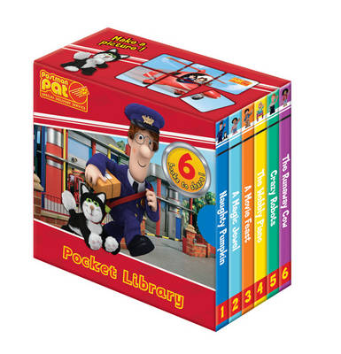 Postman Pat Pocket Library by John A Cunliffe