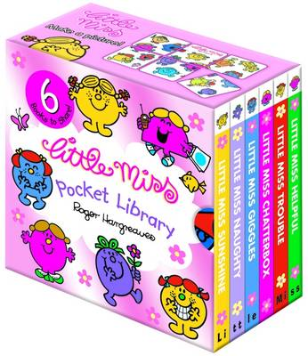 Little Miss Pocket Library by Roger Hargreaves
