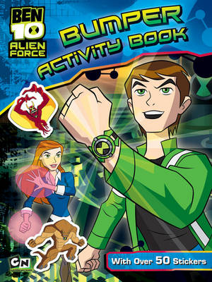 Ben 10 Alien Force Bumper Activity Book by