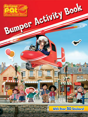 Postman Pat Bumper Activity Book by