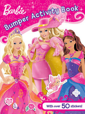 Barbie Bumper Activity Book by