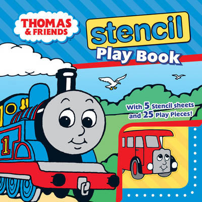 Thomas and Friends Stencil Play Book by