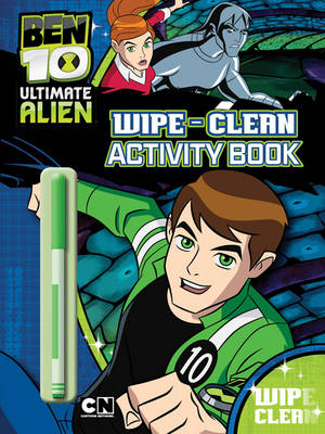 Ben 10 Alien Force Wipe-clean Activity Book by
