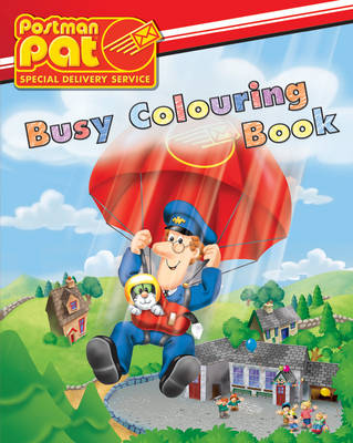 Postman Pat Busy Colouring Book by