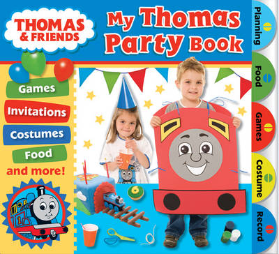 My Thomas Party Book by
