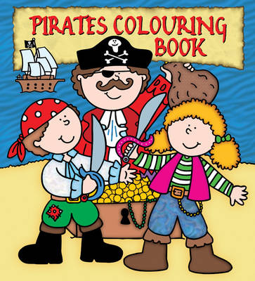 Pirates Colouring Book by