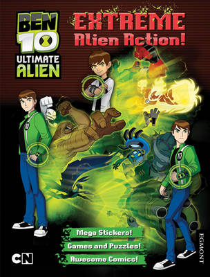 Ben 10 Ultimate Alien Extreme Alien Action! Bumper Activity Book by