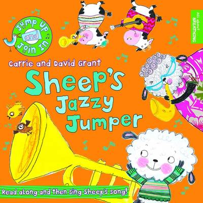 Sheep's Jazzy Jumper by Carrie Grant, David Grant, Ailie Busby