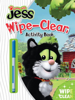 Guess with Jess Wipe-Clean Activity Book by
