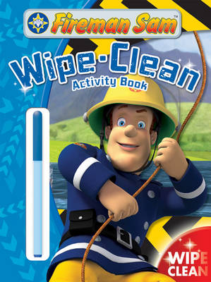 Fireman Sam Wipe-Clean Activity Book by