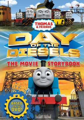 Thomas & Friends Day of the Diesels the Movie Storybook by