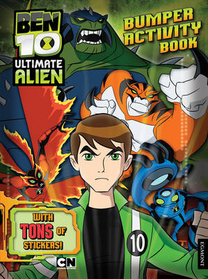 Ben 10 Ultimate Alien Bumper Activity Book by