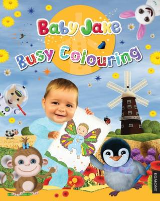 Baby Jake Busy Colouring by