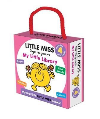 Little Miss My Little Library by Roger Hargreaves