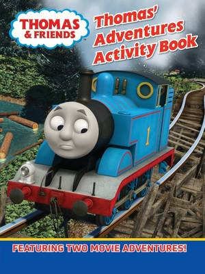 Thomas' Adventures Activity Book by