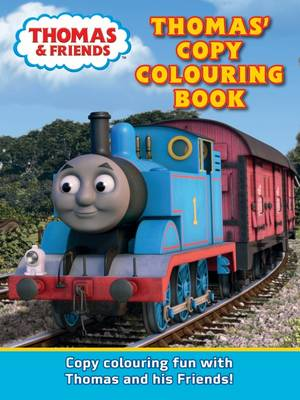 Thomas Copy Colouring Book by