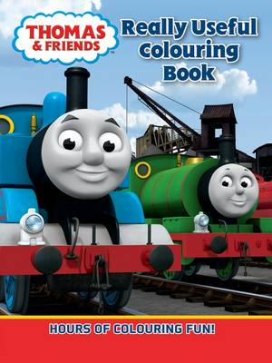 Thomas Really Useful Colouring Book by