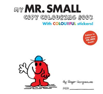 Mr Men Colour Your Own Mr Small by