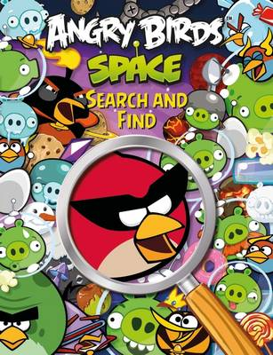 Angry Birds Space Search and Find Activity Book by