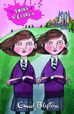 The Twins at St. Clare's by Enid Blyton