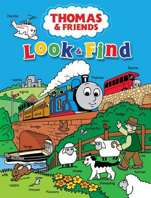 Thomas and Friends Look and Find by Rev. W. Awdry