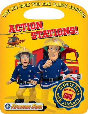 Fireman Sam Action Stations! Activity Book by
