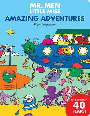 Mr Men Amazing Adventures Flap Book by Roger Hargreaves