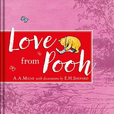 Winnie-the-Pooh: Love from Pooh Mirror Book by A. A. Milne