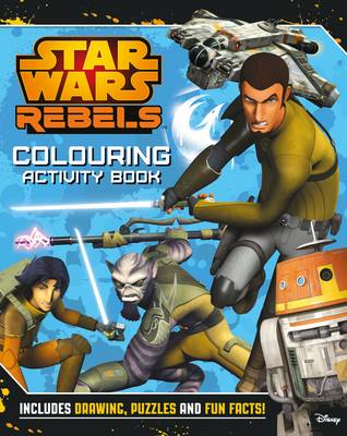 Star Wars Rebels Colouring Book by Lucasfilm Ltd