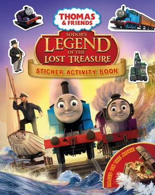 Thomas & Friends: Sodor's Legend of the Lost Treasure Movie Sticker Book by