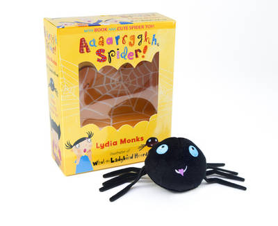 Aaaarrgghh, Spider! Book & Plush Set by Lydia Monks