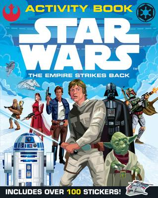 Star Wars the Empire Strikes Back Activity Book With Sticker Scenes by Lucasfilm Ltd