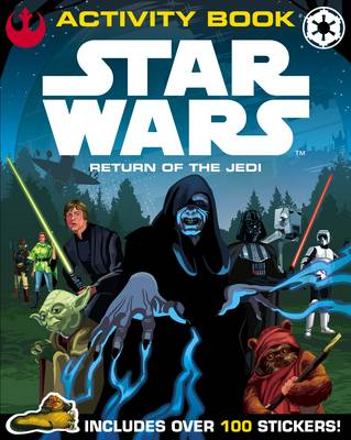Star Wars Return of the Jedi Activity Book With Sticker Scenes by Lucasfilm Ltd