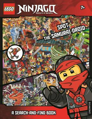LEGO Ninjago: Spot the Samurai-Droid (A Search-and-Find Book) by