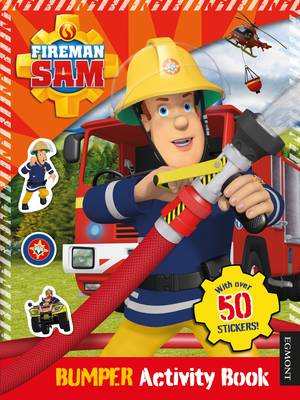 Fireman Sam Bumper Activity Book by