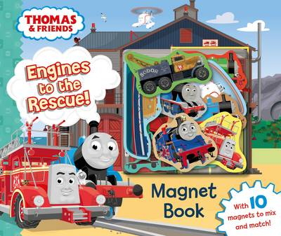Thomas & Friends: Engines to the Rescue! Magnet Book by