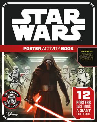 Star Wars: The Force Awakens Poster Activity Book by Lucasfilm Ltd