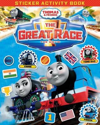 Thomas & Friends: The Great Race Movie Sticker Book by