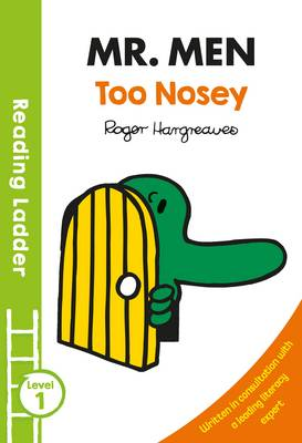 Mr Men Too Nosey by