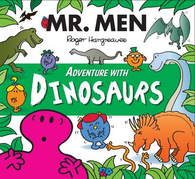 Mr Men Adventure with Dinosaurs by