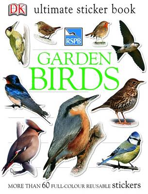 RSPB Garden Birds Ultimate Sticker Book by DK