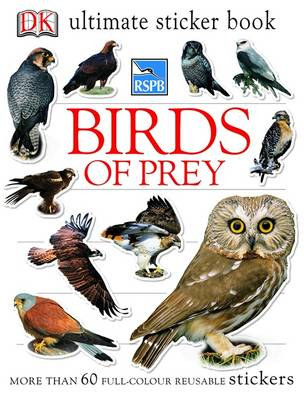 RSPB Birds of Prey Ultimate Sticker Book by DK