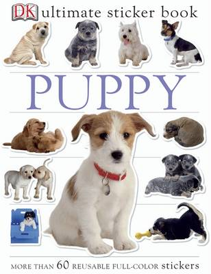 Puppy Ultimate Sticker Book by