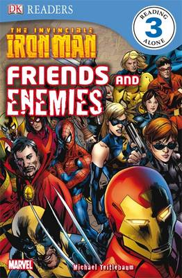 The Invincible Iron Man Friends and Enemies by