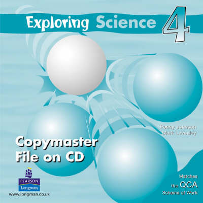 Exploring Science Copymaster File CD-ROM by Mark Levesley, Penny Johnson