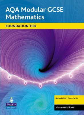 AQA GCSE Maths Modular Foundation Homework Book by Shaun Procter-Green, Trevor Senior, Tony Fisher, Sandra Burns