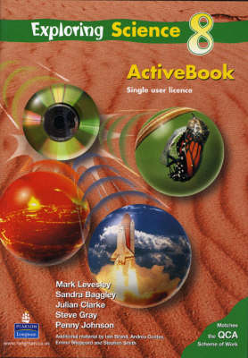 Exploring Science Pupils Activebook (Homework Version) Year 8 by Mark Levesley