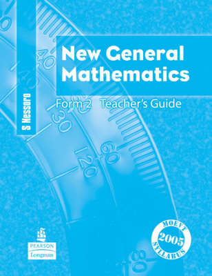New General Mathematics for Tanzania Teacher's Guide by Sebastian Nessoro, Murray Macrae